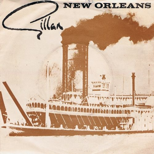 "GILLAN New Orleans 7"" Single Vinyl Record 45rpm Virgin 1981"